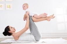 Möglichkeiten für Sport mit Baby
