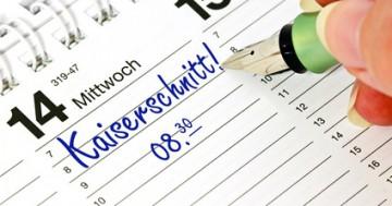 Informationen zum Kaiserschnitt - Ablauf, Risiken etc.