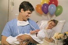 Was geschieht nach der Geburt