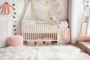 schön eingerichtetes Babyzimmer
