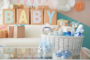 Geschenke für das neugeborene Baby
