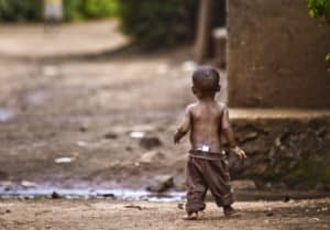Hilfe für Babys in Afrika